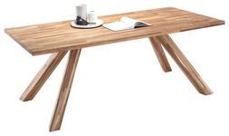 ESSTISCH in Holz 200/100/76 cm   - Eichefarben, Natur, Holz (200/100/76cm) - Carryhome
