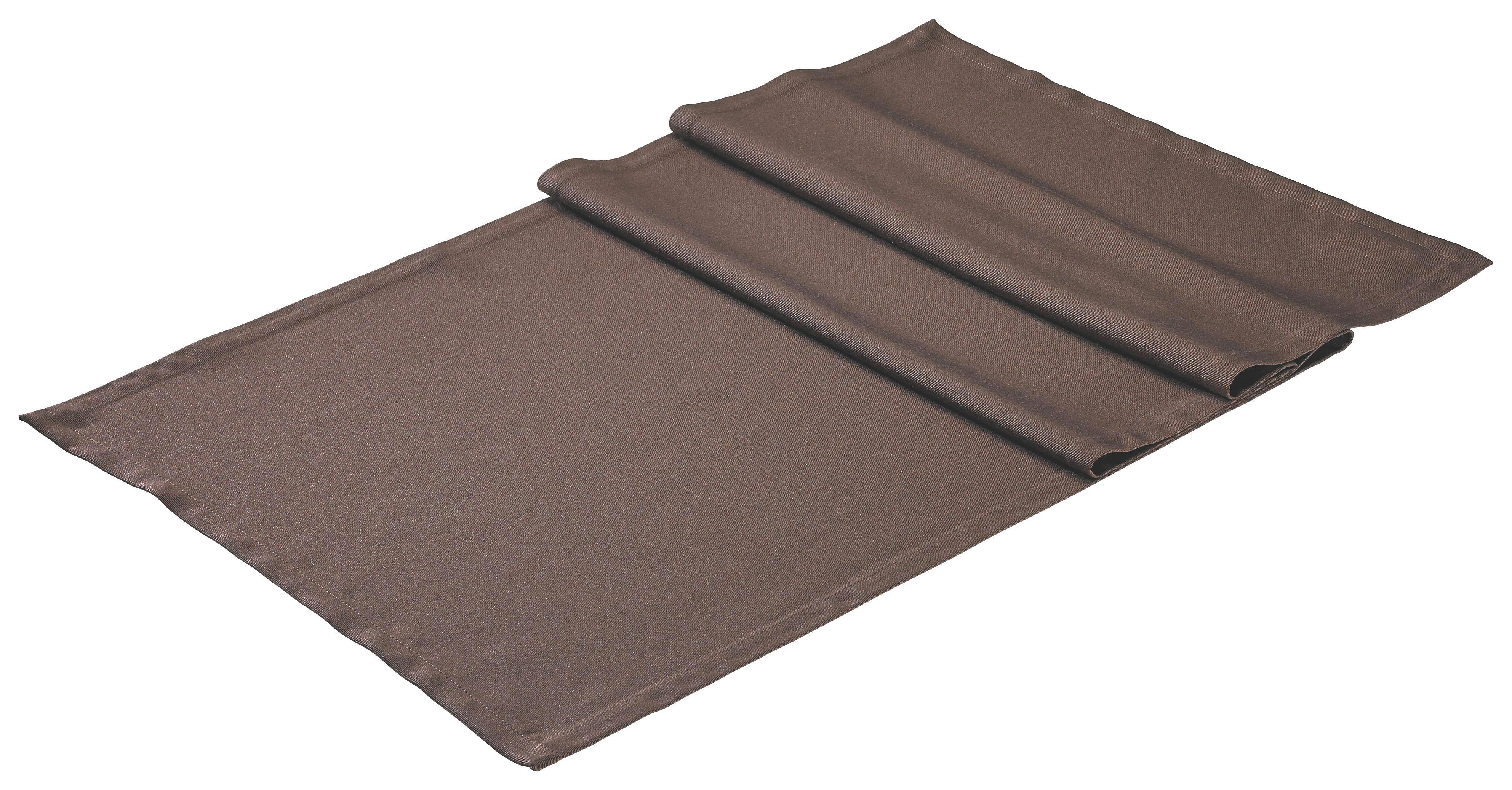 TISCHLÄUFER Textil Braun 50/150 cm - Braun, Basics, Textil (50/150cm)