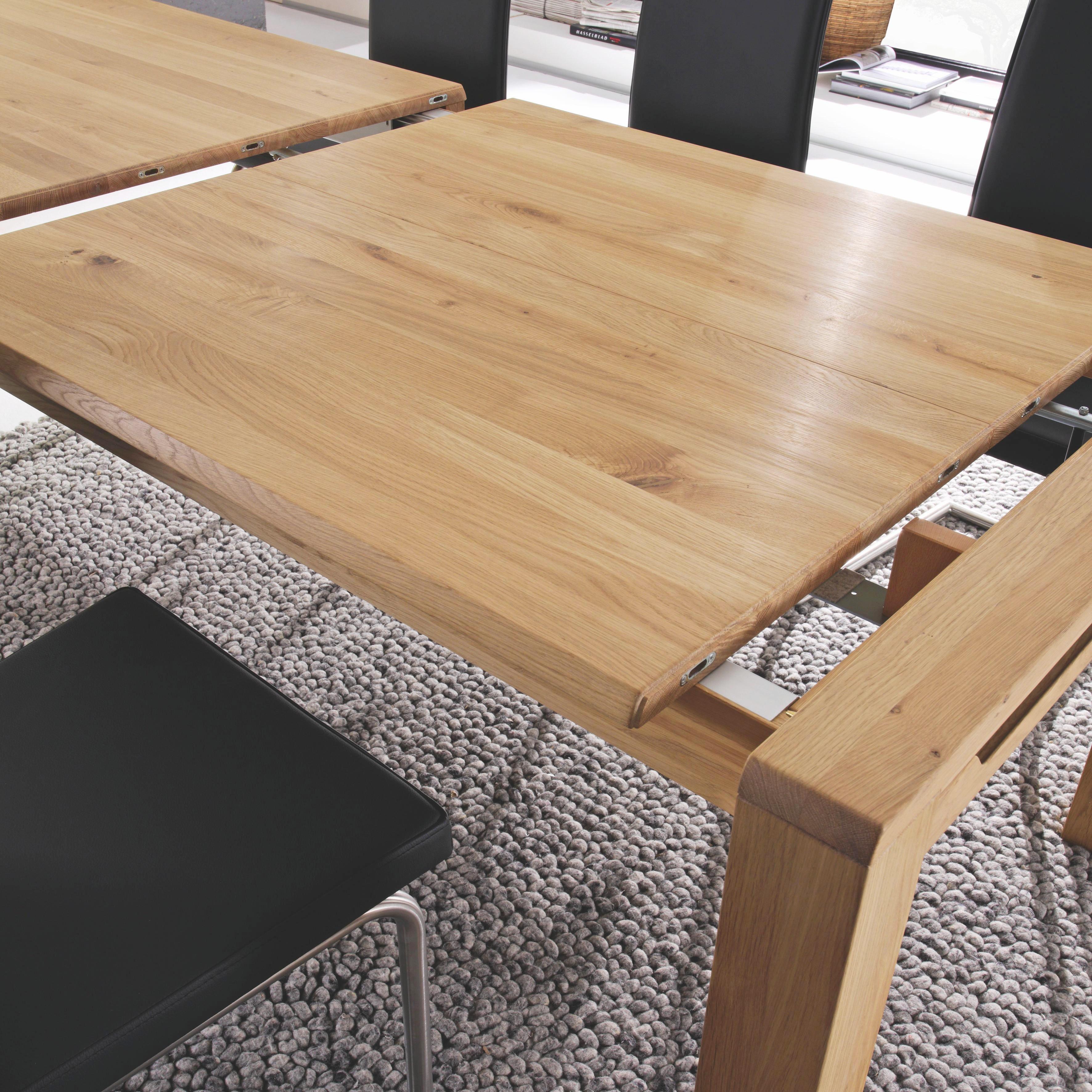 ESSTISCH Wildeiche rechteckig Eichefarben - Eichefarben, Design, Holz (200/100cm) - LINEA NATURA
