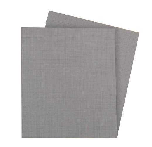 EINLEGEBODENSET 2-teilig Grau - Grau, KONVENTIONELL (37/2/33cm) - Xora
