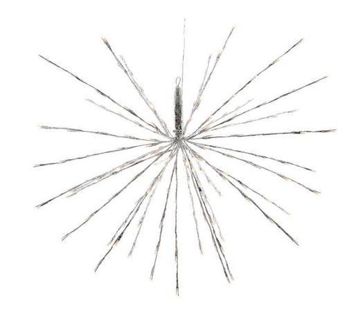 LED SVJETILJKA DEKORATIVNA - boje srebra, Basics, metal (45cm) - X-Mas
