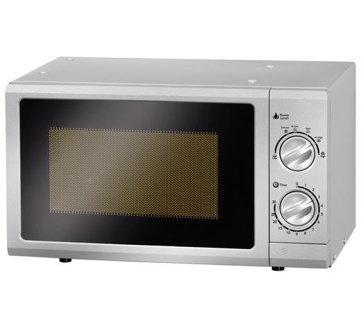 Mikrowelle 80100 - Silberfarben, Basics (45,2/26,2/33,5cm) - Mican