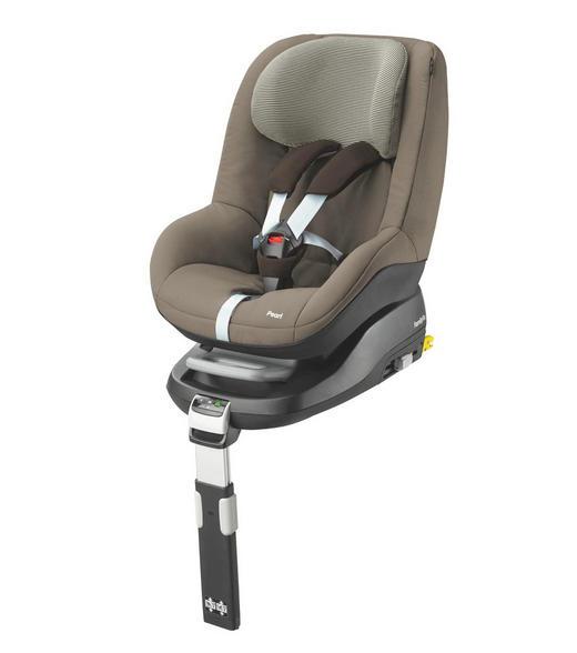 Kinderautositz Pearl - Braun, Basics, Kunststoff/Textil (47,5/50/61cm) - Maxi-Cosi