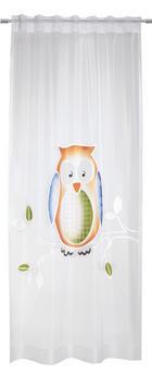 KINDERVORHANG   140/245 cm - Multicolor/Weiß, Basics, Textil (140/245cm)