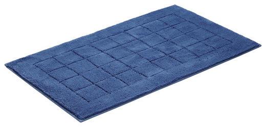 PŘEDLOŽKA KOUPELNOVÁ - tmavě modrá, Basics, textilie/umělá hmota (67/120/cm) - Vossen