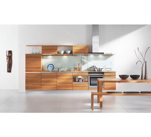 EINBAUKÜCHE  - Design, Holz - Team 7