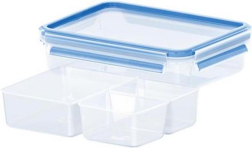 FRISCHHALTEDOSE 1,20 L - Blau/Transparent, Basics, Kunststoff (1,2l) - EMSA