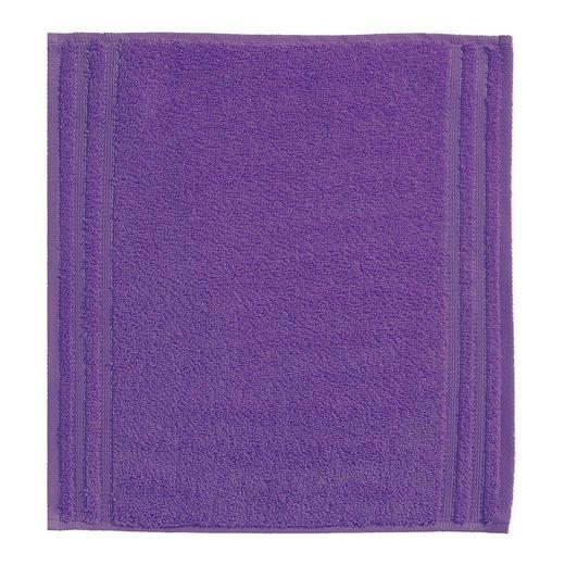 SEIFTUCH  Violett - Violett, Basics, Textil (30/30cm) - VOSSEN