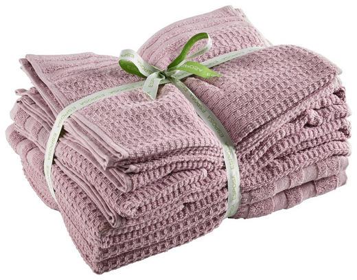 FROTTIERSET 10-teilig - Aubergine, Basics, Textil - Esposa