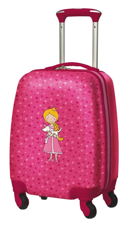 Kinderhartschalentrolley - Pink/Hellrosa, Kunststoff (40/30/22cm) - Sigikid