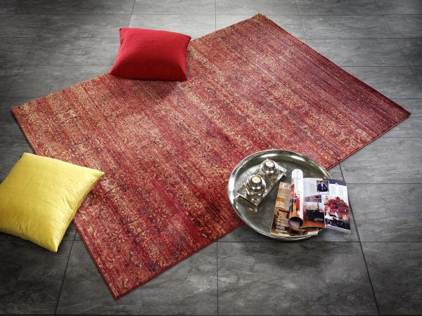 WEBTEPPICH  Kupferfarben  170/240 cm - Kupferfarben, Textil (170/240cm) - NOVEL