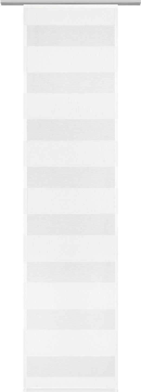 FLÄCHENVORHANG   transparent  60/245 cm - Weiß, Basics, Textil (60/245cm) - Novel