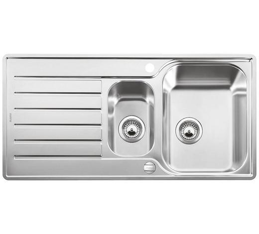 DŘEZ - barvy nerez oceli, Basics, kov (100/16,5/50cm) - Blanco