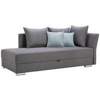 VÁLENDA, šedá, textilie - šedá/mátově zelená, Design, textilie/umělá hmota (220/93/100cm) - Xora