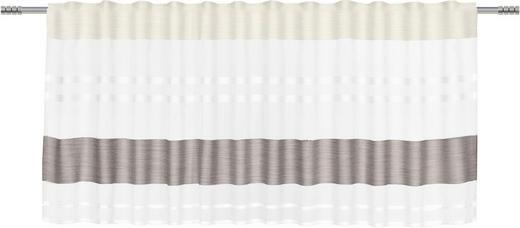 KURZGARDINE    50/135 cm - Schlammfarben, Basics, Textil (50/135cm) - Esposa