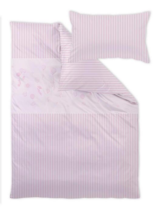 Curt Bauer Babybettwäsche - Hellrosa, Basics, Textil (100/135cm)