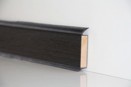 SOCKELLEISTE - Schwarz, Basics (250/6/1,3cm) - Venda