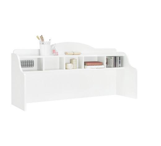 NÁSTAVEC NA PSACÍ STŮL - bílá, Trend, kompozitní dřevo (131/62,5/38,1cm) - Xora