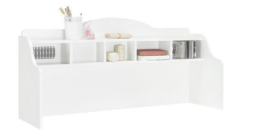 SCHREIBTISCHAUFSATZ - Weiß, Trend, Holzwerkstoff (131/62,5/38,1cm) - Xora