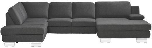 WOHNLANDSCHAFT - Silberfarben/Grau, Design, Textil/Metall (220/333/165cm) - Musterring