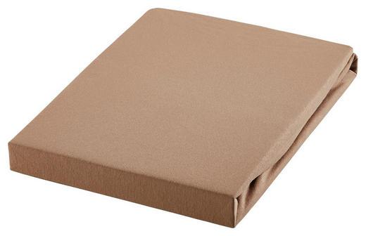 TOPPER-SPANNBETTTUCH Jersey Beige für Topper geeignet - Beige, KONVENTIONELL, Textil (100/200cm) - Esposa