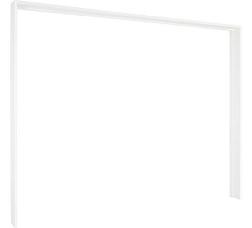 Passepartoutrahmen - Weiß, Design, Holzwerkstoff (276/228cm) - Ti`me