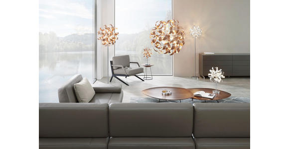 LED-HÄNGELEUCHTE 95/340 cm  - Kupferfarben, Design, Metall (95/340cm) - Ambiente