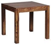 ESSTISCH in Holz 80/80/76 cm   - Sheeshamfarben, MODERN, Holz (80/80/76cm) - Carryhome