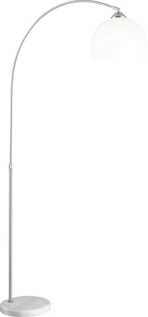 STEHLEUCHTE - Weiß, MODERN, Kunststoff/Stein (92/30/196cm)