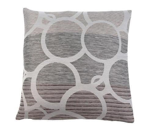 KISSENHÜLLE Grau 50/50 cm - Grau, Textil (50/50cm) - NOVEL