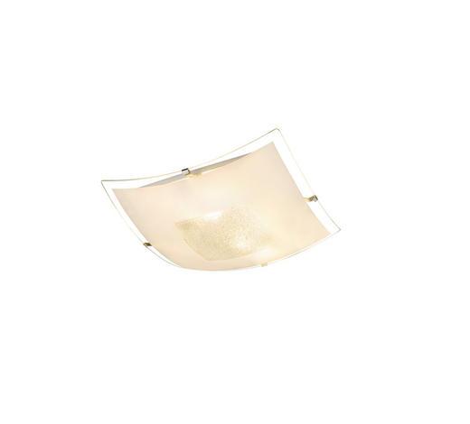 DECKENLEUCHTE - Weiß, Basics, Glas/Kunststoff (30/7,5cm) - Boxxx