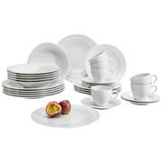 KOMBISERVICE 30-teilig - Weiß, Basics, Keramik - Seltmann Weiden