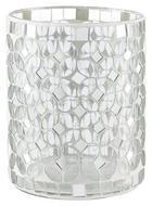 VÄRMELJUSHÅLLARE - vit, Basics, glas (10/12,5cm) - Ambia Home