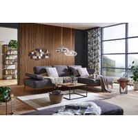 WANDDEKO - Goldfarben/Schwarz, Design, Metall (110/4,5/55cm) - Ambia Home