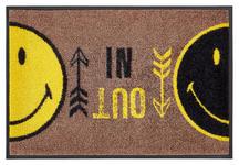 FUßMATTE 40/60 cm Braun, Gelb, Schwarz - Gelb/Schwarz, Basics, Kunststoff/Textil (40/60cm) - Esposa