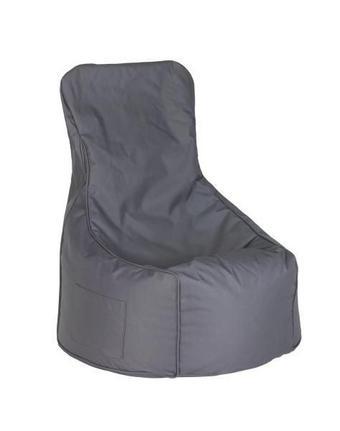 SEDACÍ PYTEL - antracitová, Design, textil (85/100/85cm) - Boxxx