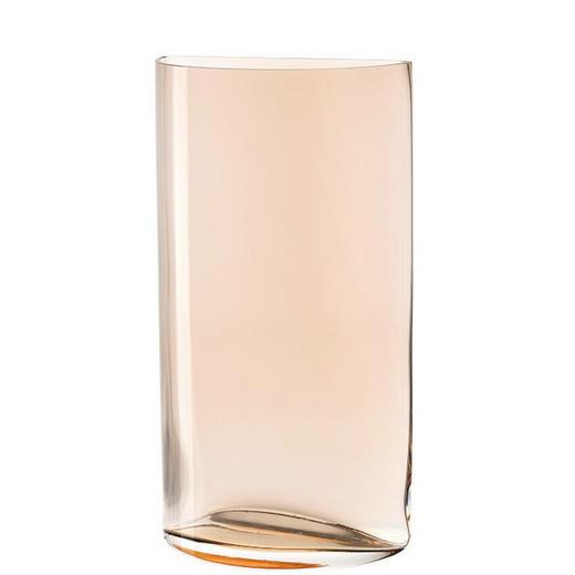 VASE 34,00 cm - Creme, KONVENTIONELL, Glas (20/34cm) - Leonardo
