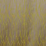 VORHANGSTOFF per lfm blickdicht  - Gelb/Silberfarben, Design, Textil (145cm) - Esposa