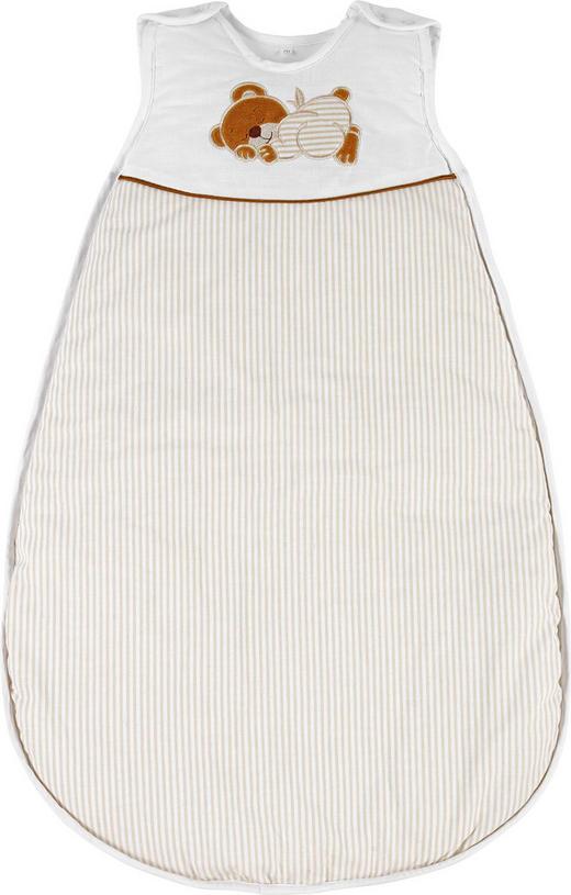 BABYSCHLAFSACK ORSO - Braun/Naturfarben, Basics, Textil (70//cm) - My Baby Lou