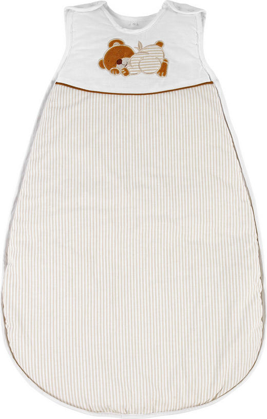 BABYSCHLAFSACK ORSO - Braun/Naturfarben, Basics, Textil (90cm) - My Baby Lou
