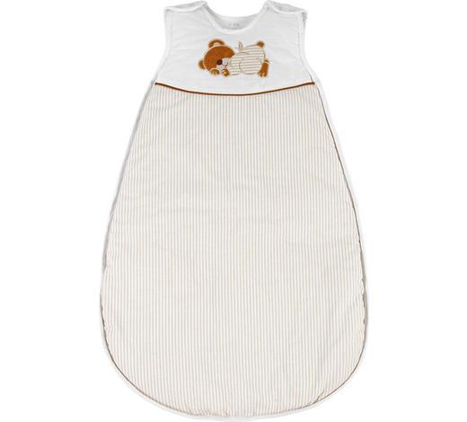 BABYSCHLAFSACK ORSO  - Braun/Naturfarben, Basics, Textil (110cm) - My Baby Lou