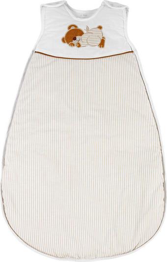 PYTEL SPACÍ DĚTSKÝ - bílá/přírodní barvy, Basics, textil (110cm) - My Baby Lou
