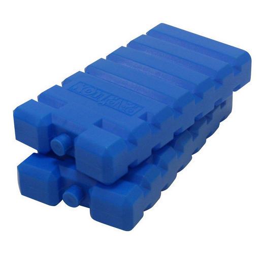 KÜHLAKKU-SET - Blau, Kunststoff
