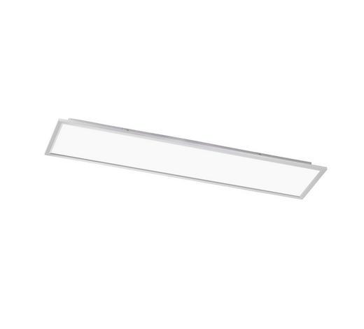 LED-PANEEL - Silberfarben, Design, Kunststoff/Metall (120/5,5/30cm)