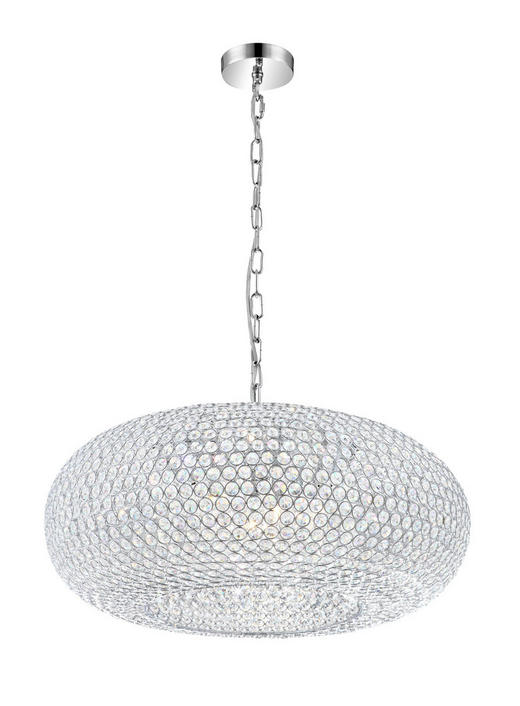 TAKLAMPA - Klassisk, metall/glas (61/137cm)