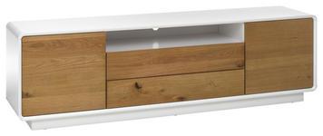 LOWBOARD 188/55/40 cm  - Eichefarben/Weiß, Design, Holz/Holzwerkstoff (188/55/40cm) - Xora
