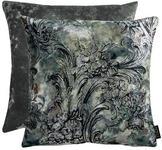 KISSENHÜLLE Grau, Schwarz  - Schwarz/Grau, KONVENTIONELL, Textil (46x46cm) - Ambiente