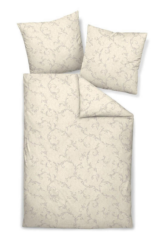 BETTWÄSCHE Interlock-Jersey Beige 135/200 cm - Beige, MODERN, Textil (135/200cm) - JANINE