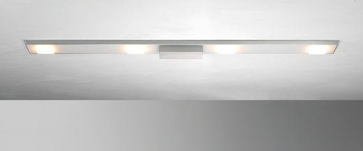 LED-DECKENLEUCHTE - Design, Metall (90/8/4cm)