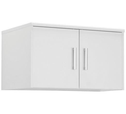 NÁSTAVEC NA SKŘÍŇ, bílá - bílá/barvy stříbra, Konvenční, kov/kompozitní dřevo (72/43/54cm) - Xora